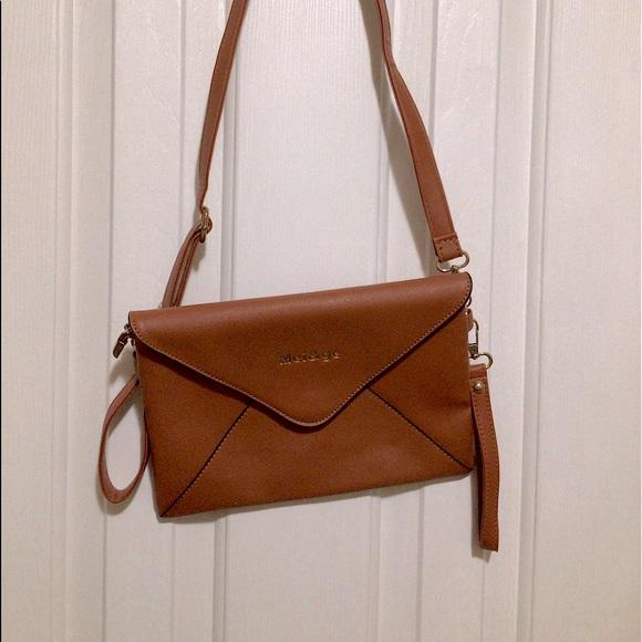 Crossbody purse/Wristlet with long